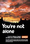 You're not alone poster